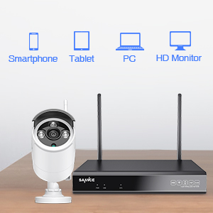 outdoor wifi security camera system