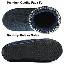anti slip men boot slippers indoor