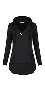 Miusey Women's Hoodie with Pocket