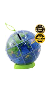 educational learning toy 3D puzzles globe earth decoration magic cube challenging for kids adults