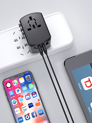 All in One Small Travel Adapter