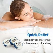 AcuPlus Bath Bomb Quick Relief