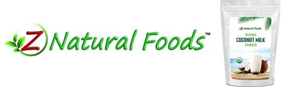 z natural foods coconut milk powder