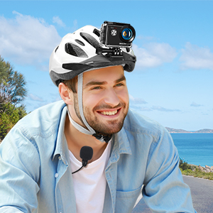 Dragon Touch Vision 4 lite action camera gopro go pro underwater waterproof