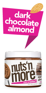 Nuts N More Dark Chocolate Almond