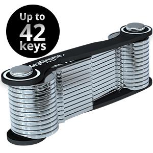 mini knife key fob slim car 20 24 32 36 gadget clip titanium ring organiser hodler for men women