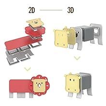 tallo de bloques de construcción magnéticos