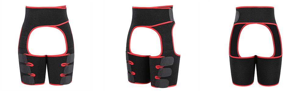 thigh slimmer waist trainer trimmer trainer thigh support Compression tummy control butt lifter