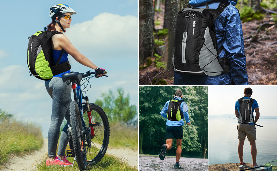 Travel Daypack for Climbing Camping Touring