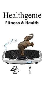 Whole Body Vibration Platform Machines
