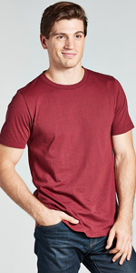 tri blend heather crew neck normal t shirt tee short sleeve mens unisex soft comfy all day every day