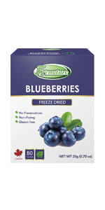 Frenature Freeze Dried Blueberries