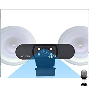 HD Webcam with Microphone