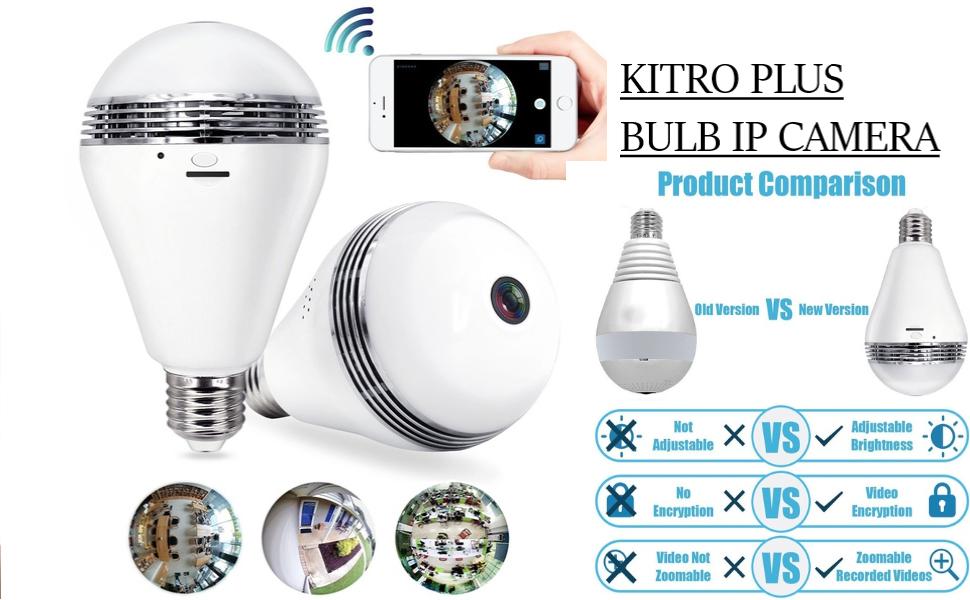 kitro plus bulb ip camera