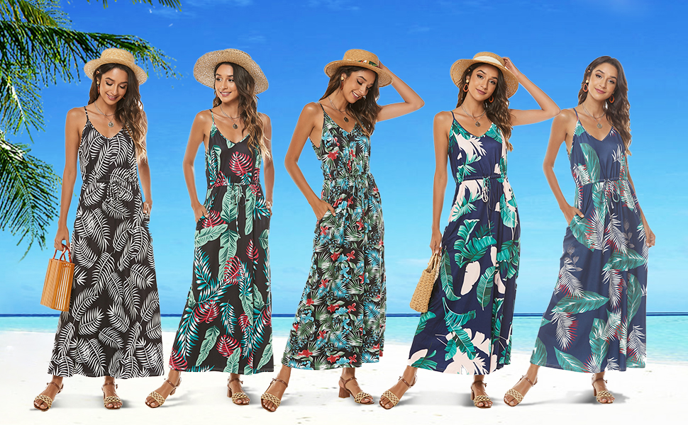 maxi dresses with pockets for sexy casual beach vacation holiday maternity baby shower wear dress