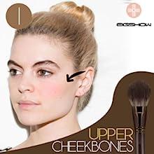 Makeup Set Professional Kabuki Premium Synthetic Wood Handle Cosmetic Brushes for Eye Face Liquid