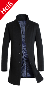 4154 Damen Designer Mantel Winter Jacke Wintermantel