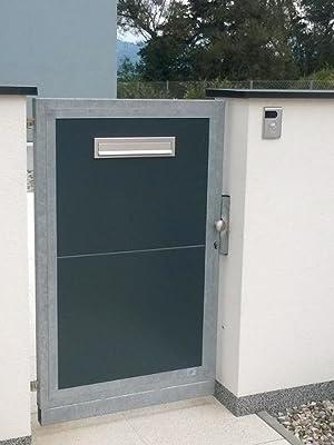 In poort ingebouwde A-050 van roestvrij staal.