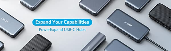 PowerExpand USB-C Hubs