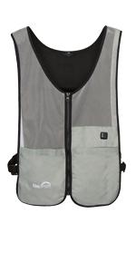 Coolspring by Venture Heat Cooling Fan Vest Evaporative Cooling Vest