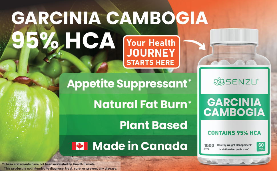 Best Garcinia Cambogia 95% HCA Appetite Suppressant Weight Loss Pills Men Women Fat Burn Natural