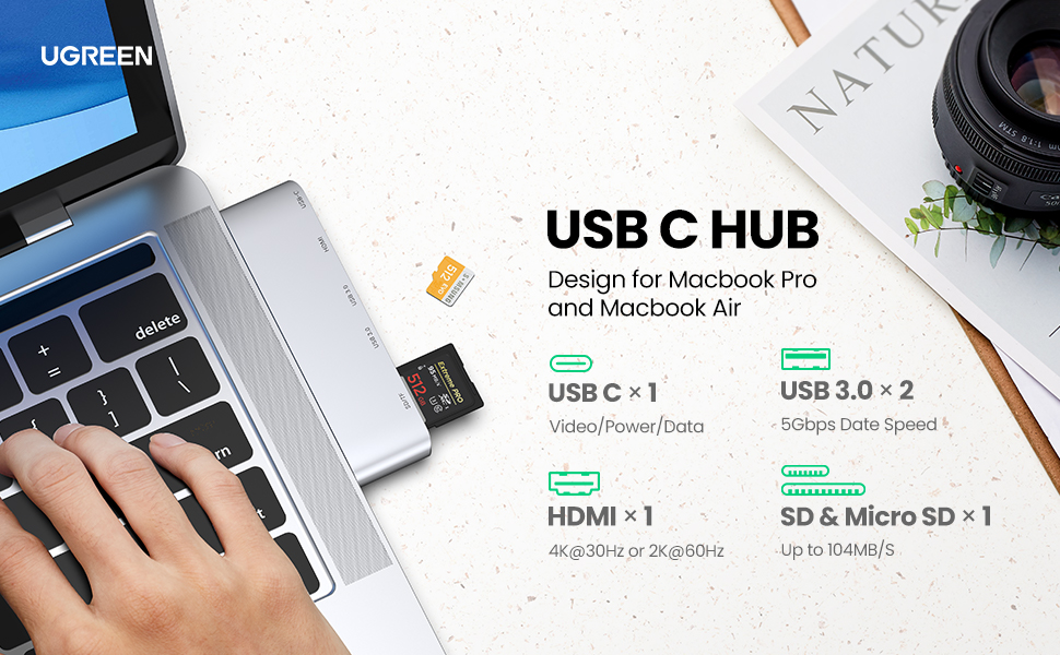 UGREEN USB C Hub