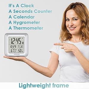Lightweight clock