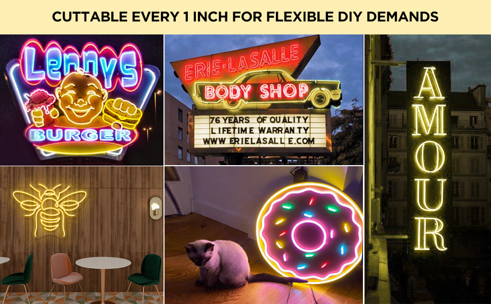 silicone neon rope lights