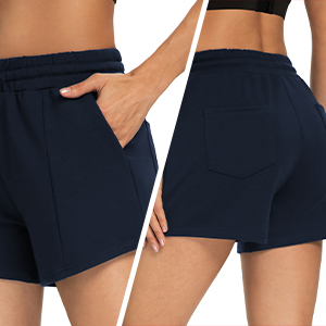 shorts with pockets for women