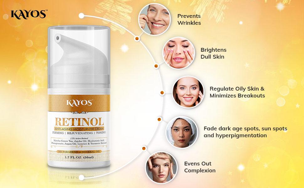 Benefits of Retinol Cream