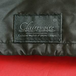 Reversible piano cover logo clairevoire clsoeup