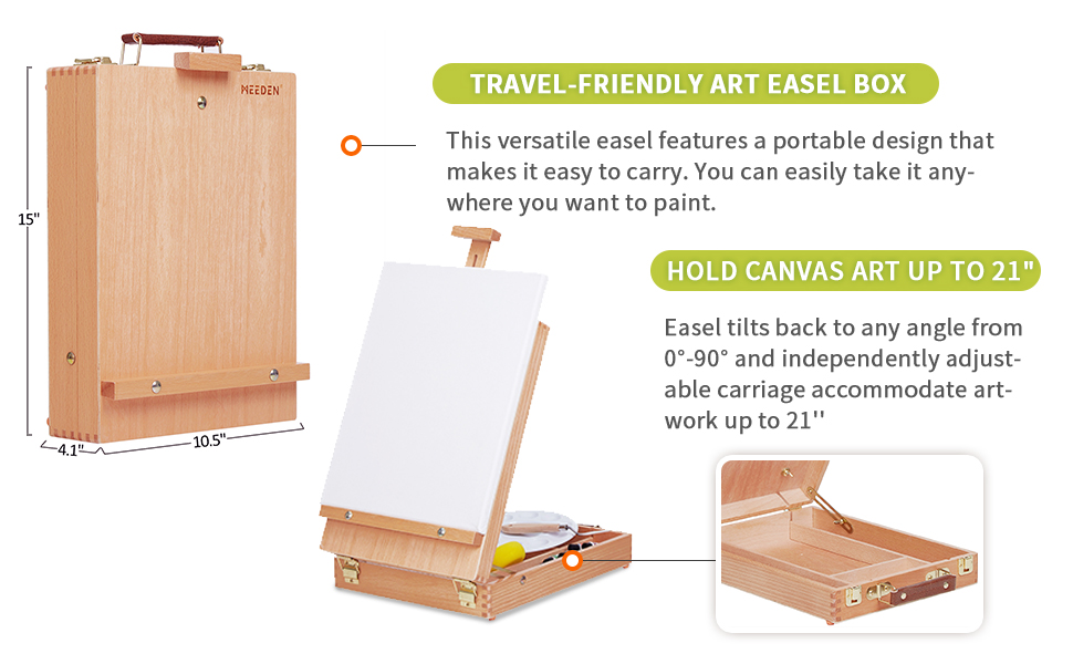 sketchbox tabletop easel tabletop easel with storage drawer box easel for painting