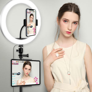 led ring light with stand selfie ring light with tripod stand ring light for phone