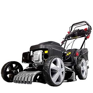 Brast Essence Tondeuse Auto-Entraînement 2,2 KW moteur Trimmer roues Vario 3,0ps