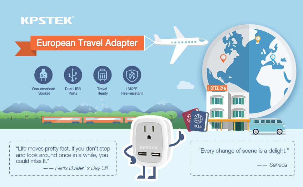 European plug adpater