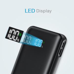 bateria externa con pantalla digital LED