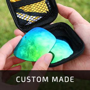 Custom made Fuse Lenses in packaging