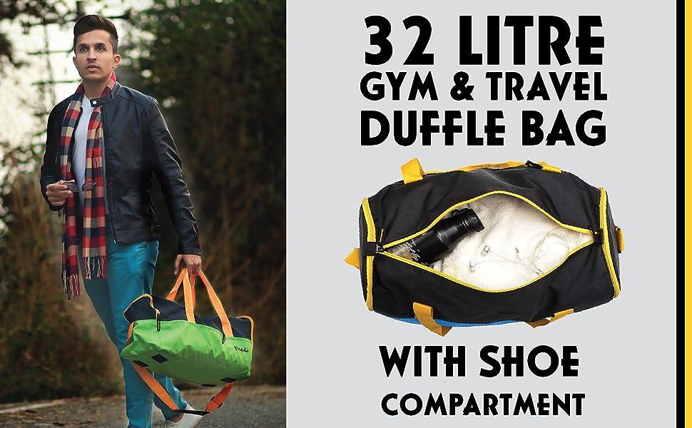 gym & Yoga GYM BAG TRAVEL DUFFLE BAG
