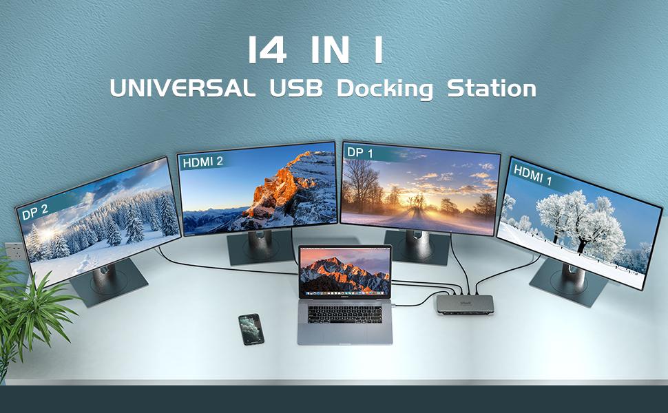 universal usb docking station