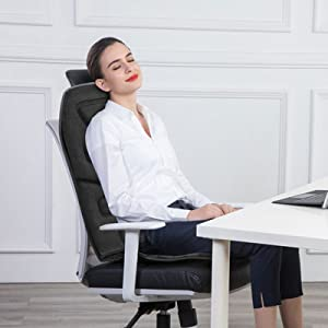 office chair use seat cushion with massage