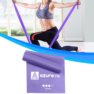 purple exercise band