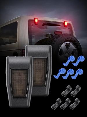 jk rear glass light jeep hinge cover light jeep rear hinge cover jeep jk rear window light