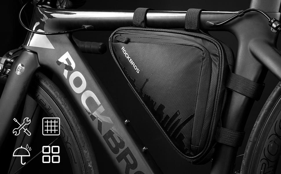 Electra Stream Ride Water Resistant Frame Bag Black