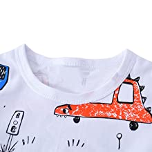 toddler boy crew neck tee short sleeve t shirt