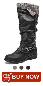 Winter Waterproof Ankle Boots Ladies Flat Slip On Snowshoe Boots Comfy Fur Lined Warm Ankle Booties