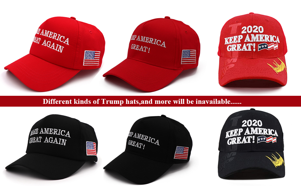 Make America Great Again Donald Trump 2016 Campaign Cap Adjustable Snapback Hat