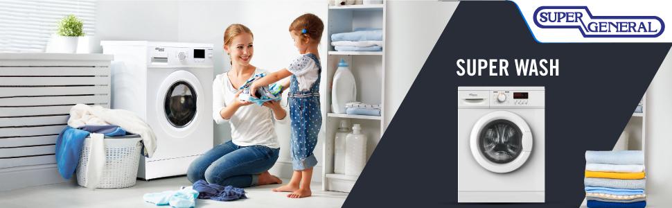 Super-General washing-machine washer white cheap household-appliances