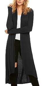 women long cardigan