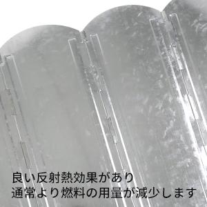 YOLER 大型風除板 ウインドスクリーン 折り畳み式 風よけ 亜鉛メッキ鋼板 8枚連結 長さ120cm×高さ40cm 専用収納ケース付き