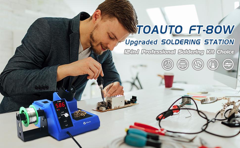 Digital Soldering Iron Station Kit
